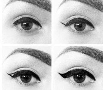 L'eye liner à la Audrey Hepburn n'a jamais été aussi facile à réaliser