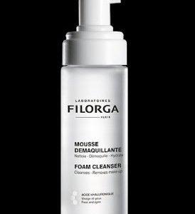 Filorga crée la première Mousse Démaquillante Anti-âge à l'acide hyaluronique.