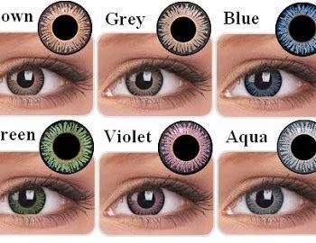 J'ai testé les lentilles Colourvue…mais adaptées à ma vue!!