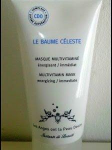 Le Baume Celeste, le masque de beauté à tout faire…