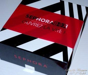 {ALERTE TRÈS BON PLAN} – La sublime Sephora Box «Océan de Cadeaux» et ses 18 produits est arrivée…et elle déchire !!