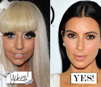 Do / Don't Celebrity Makeup Looks – Makeup de stars à imiter ou à bannir