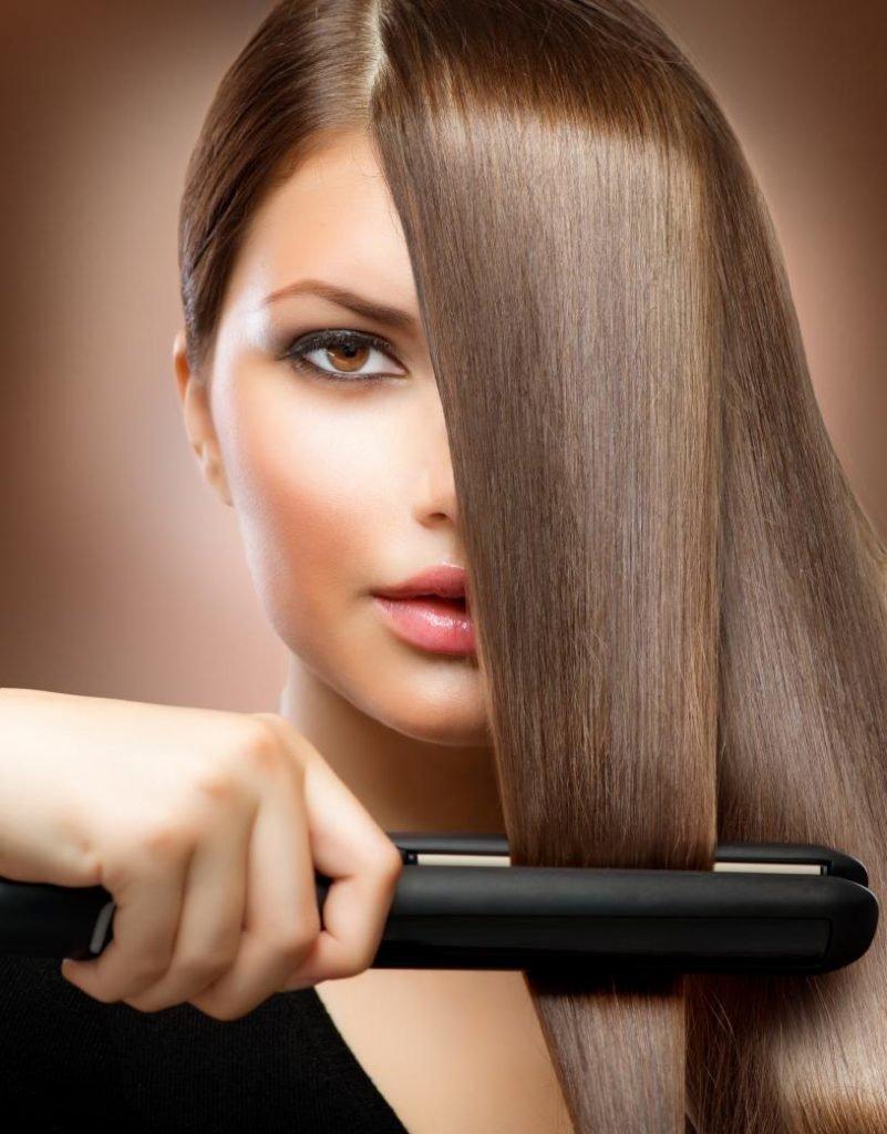 lisser ses cheveux