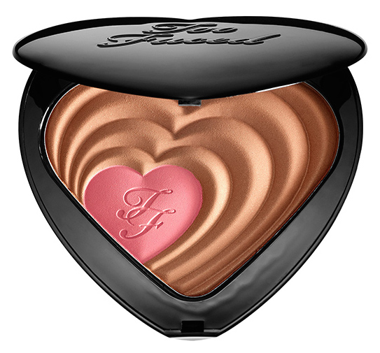 ROSS AND RACHEL TOO FACED BLUSH
