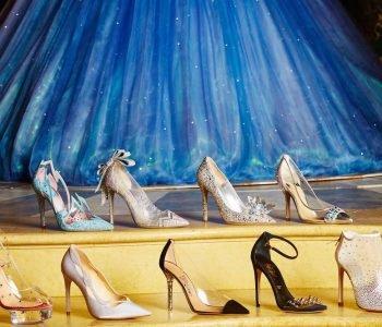 L'emblématique pantoufle de verre de Cendrillon revisitée par 9 créateurs de luxe