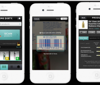 Think Dirty, l'application smartphone qui analyse la composition de vos produits cosmétiques