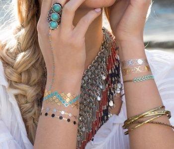 Comme Beyonce, cédez à Jewelry Tattoo Lab, la grande tendance de cet été (grosse surprise inside)