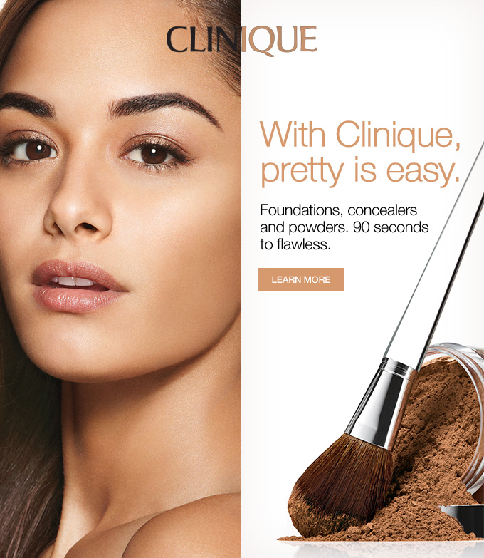 with clinique pretty is easy