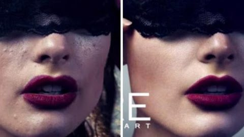 {Vidéo choc} – Les miraces de Photoshop sur les photos de mode !!!!