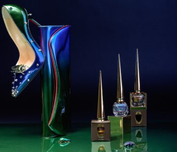 Christian Louboutin lance sa nouvelle collection Scarabée (vernis, sacs et shoes)