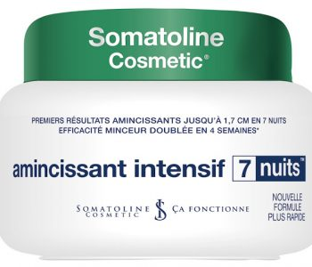 {CONCOURS SOMATOLINE} – 15 Amincissant Intensif 7 Nuits à gagner