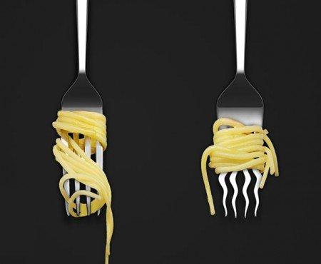 fourchette spaghetti