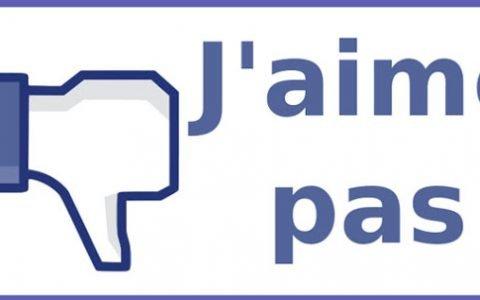 Le bouton «J'aime Pas» arrive enfin sur Facebook