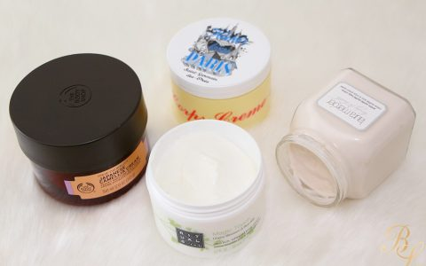 Mes crèmes hydratantes/nourrissantes favorites pour une peau douuuuuuce