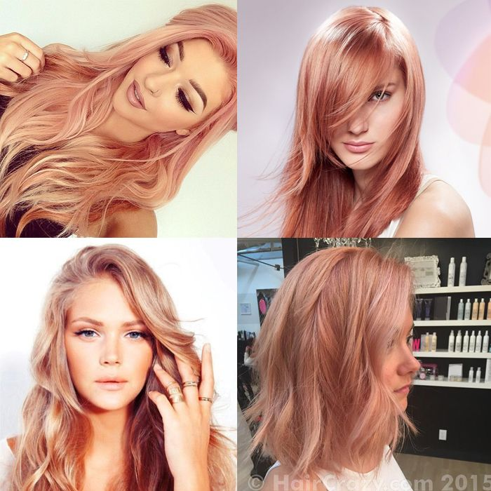 cheveux-rose-gold