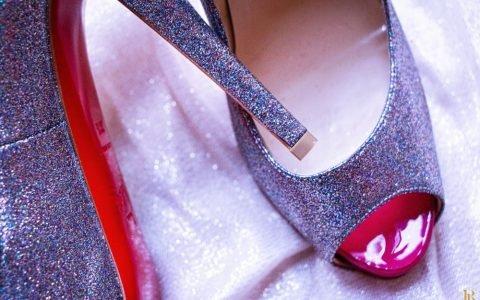 {Les Shoes du Moment #28} : Mes Very Privé Glitter Christian Louboutin