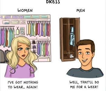 Différences hommes-femmes : Cliché mais tellement vrai !