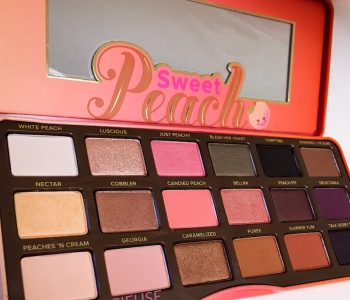 {CONCOURS EXCLU} – Une Palette Sweet Peach Too Faced