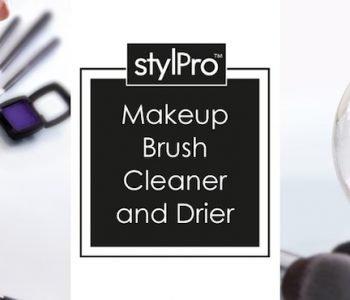 StylPro Makeup Brush Cleaner & Drier, la machine qui lave et sèche les pinceaux
