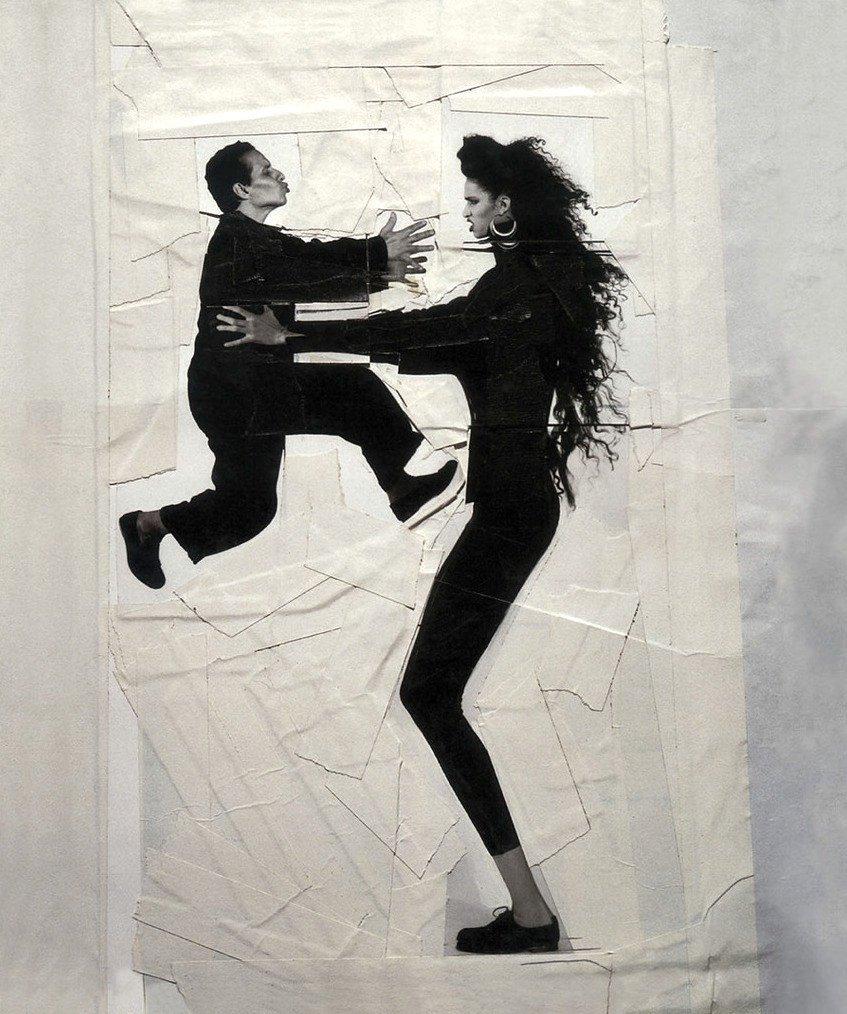 Azzedine Alaïa & Farida Khelfa sous l'objectif de Jean-Paul Goude