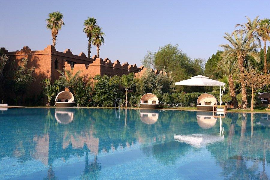 Es Saadi Marrakech Resort - Ksar - Vue Piscine-min