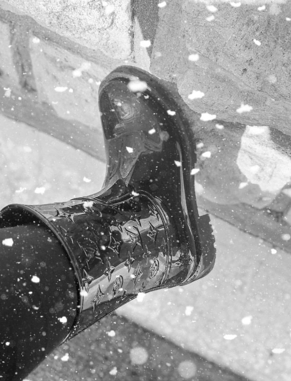 vuitton bottes de pluie