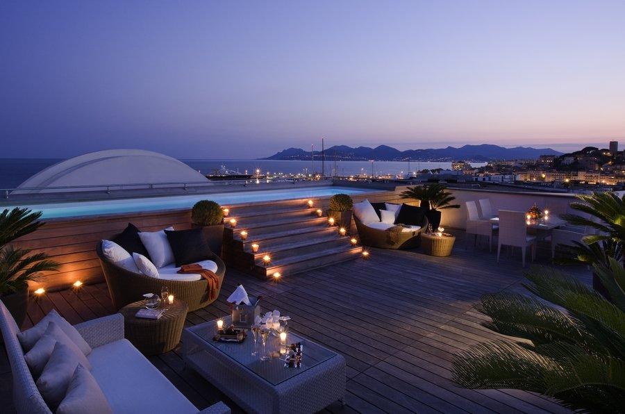 Suite MAJESTIC - Terrasse de nuit 2