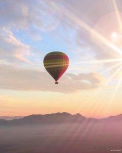 montgolfière marrakech