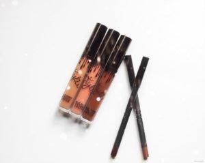 j'ai testé les rouges à lèvres liquides Kylie Jenner