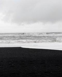 black sand islande