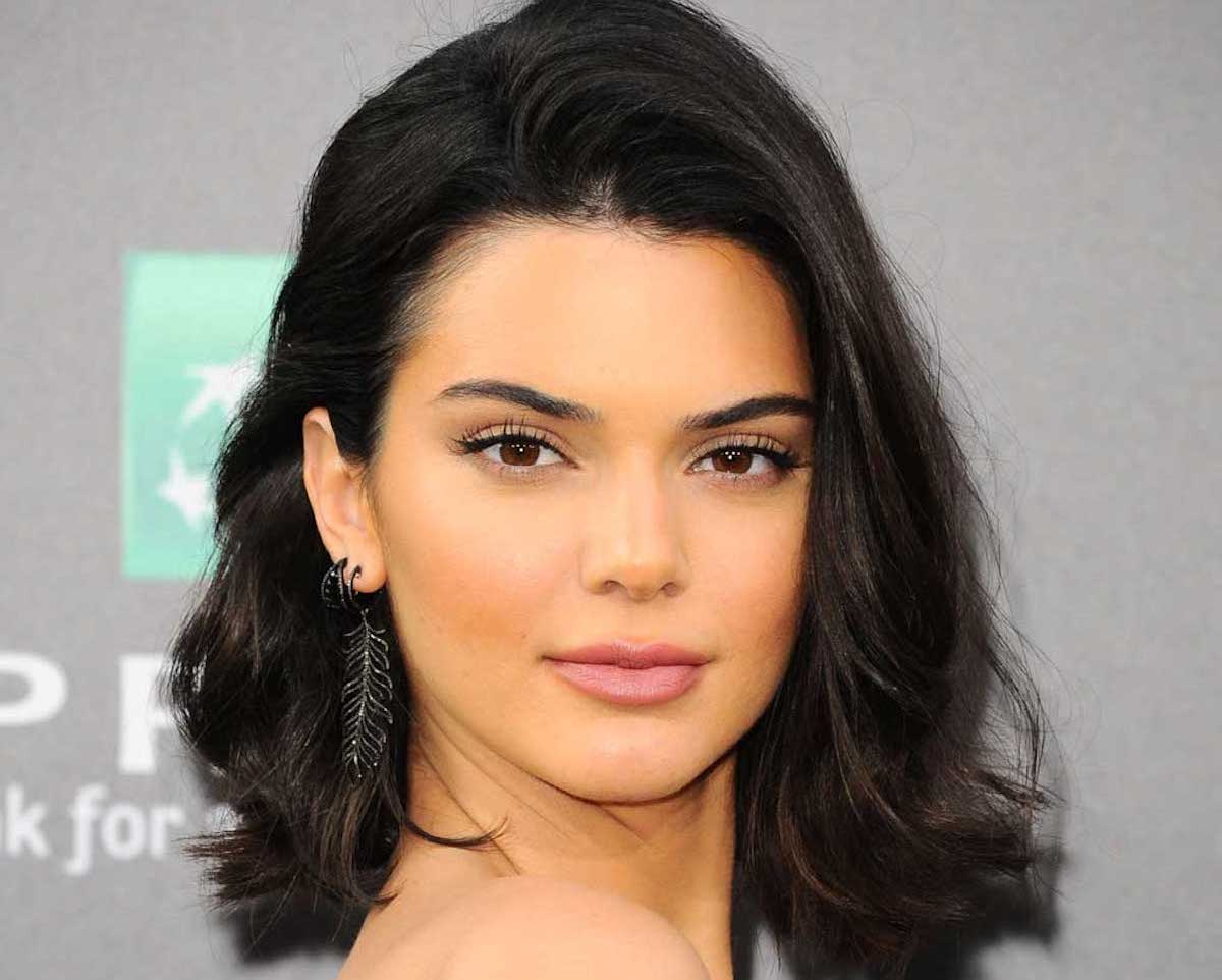 secret cheveux naturel de kendall jenner